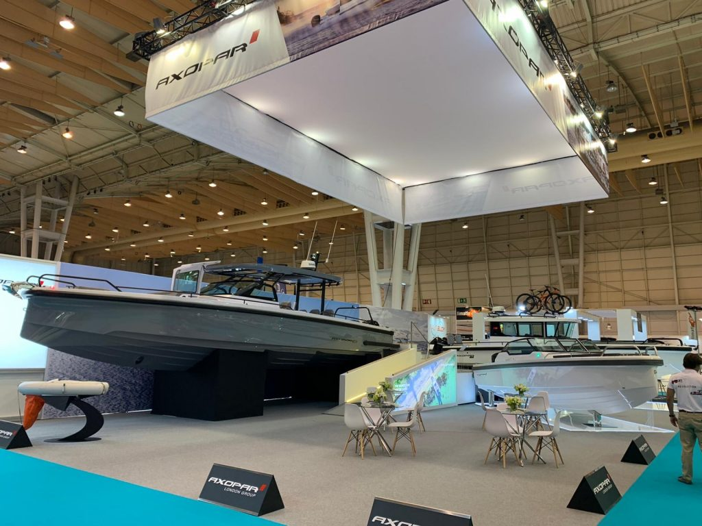AXOPAR exhibit at Nauticampo Lisbon Boat Show 2020